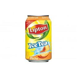 Canette Ice Tea Pêche 33cl