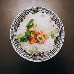 Riz Blanc – ข้าวสวย