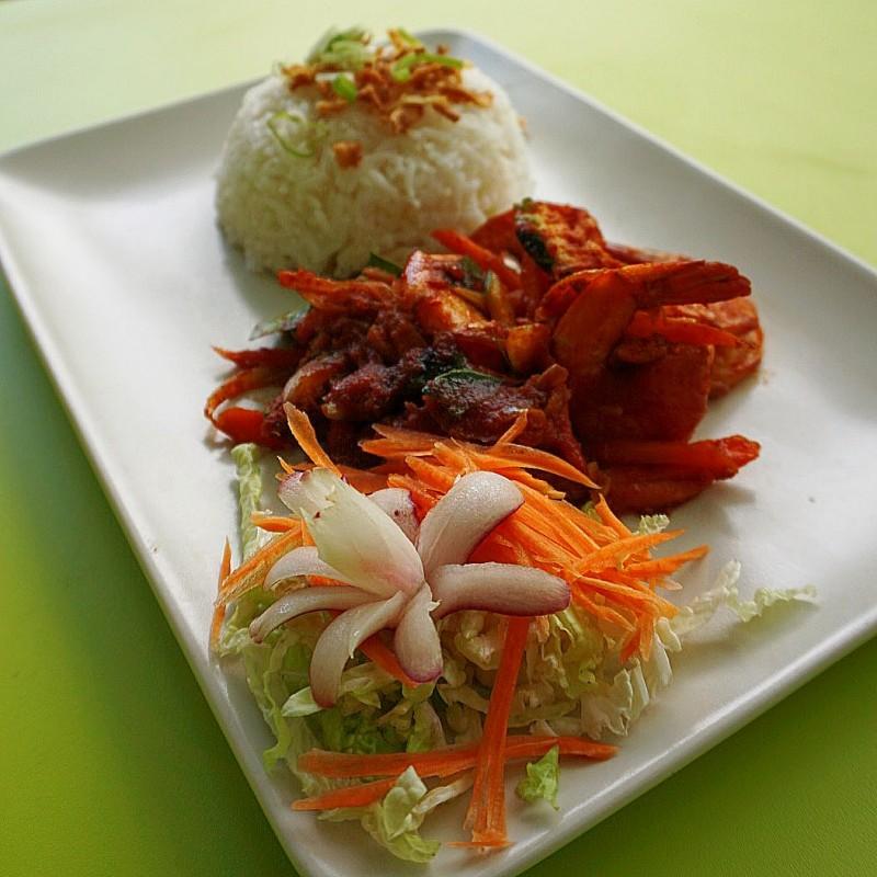 Pad Prikkaeng  ผัดพริกแกง