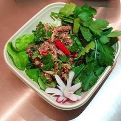 Lab – Salade Thaïe au boeuf ou poulet - ลาบ