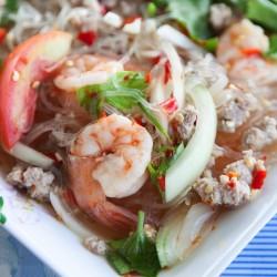 Yam woun sen – Salade thaï...