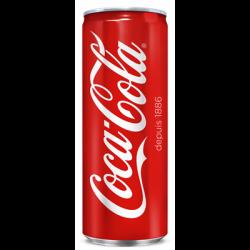 Canette Coca Cola 33cl slim
