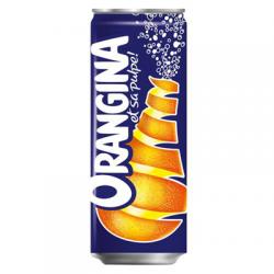 Canette Orangina 33 cl slim