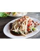 Entrée thaïes - Salades soupes nems