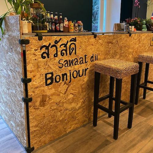 restau Thai interieur comptoir